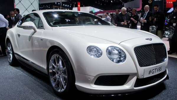 Bentley Continental. Архивное фото