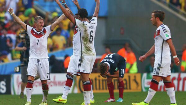 Футболисты сборной Германии. Чемпионат мира в Бразилии