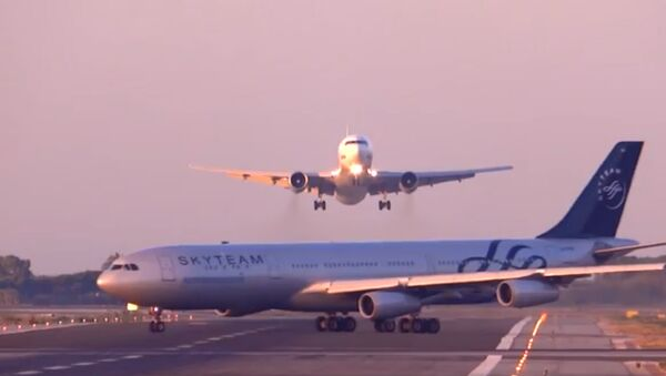 Инцидент в аэропорту Барселоны. Архивное фото