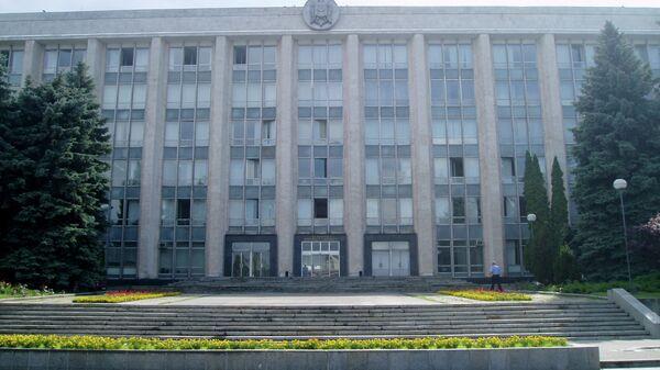 Здание правительства Молдавии. Архивное фото.