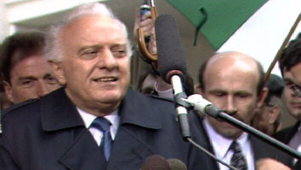 Каким был Эдуард Шевардназде: архивные кадры с бывшим президентом Грузии