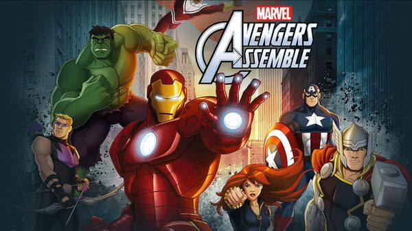 Комикс Marvel Мстители