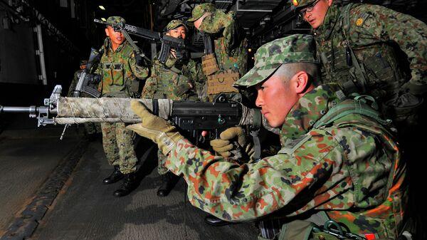 Тренировка японских военных