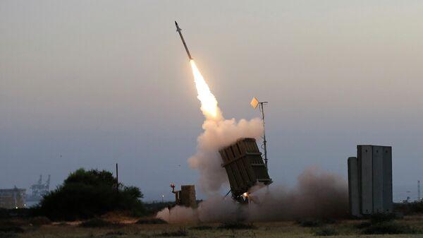 Израильская система ПВО Железный купол. Архивное фото
