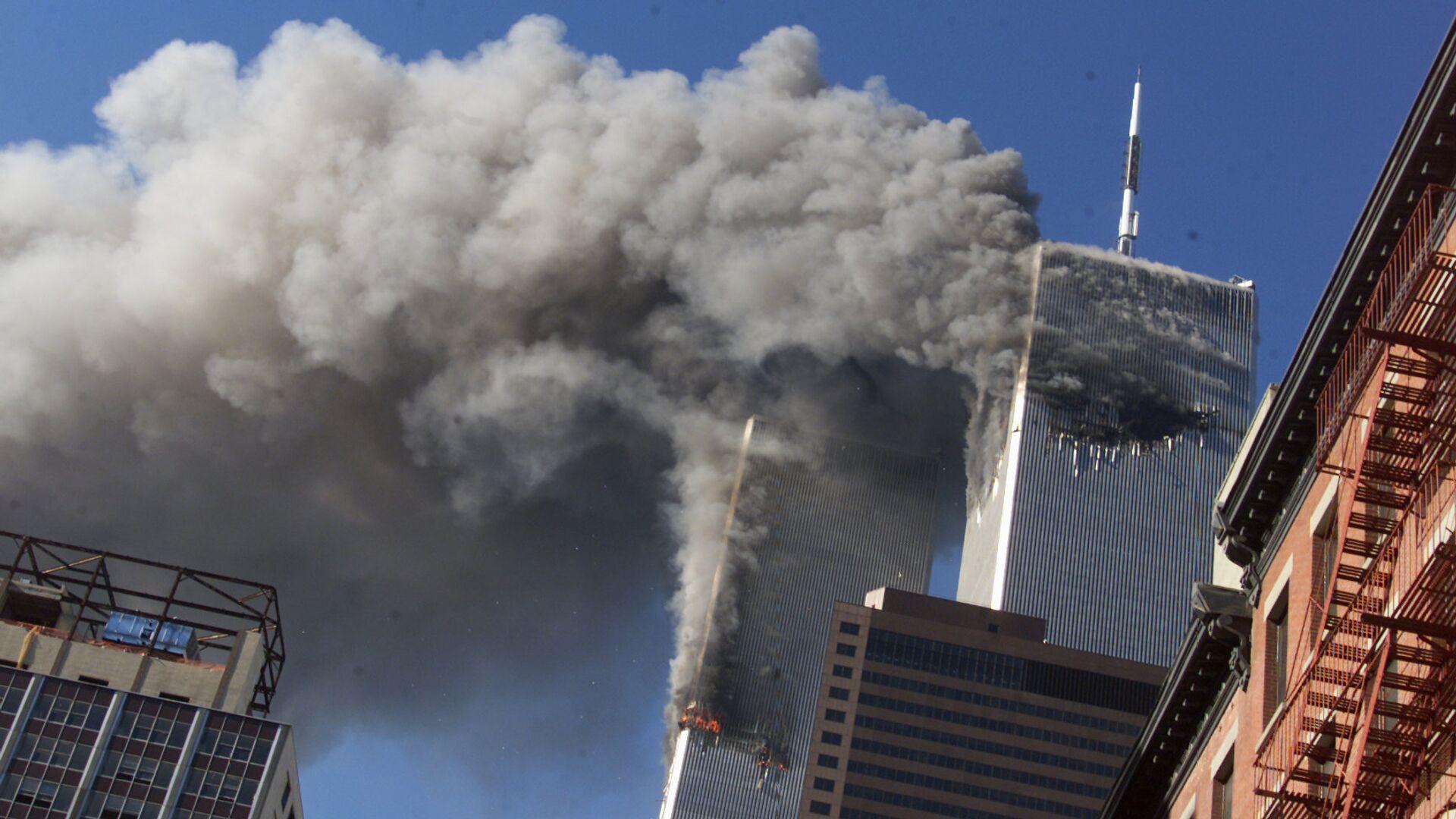 Теракт в Нью-Йорке. 11 сентября 2001 года  - РИА Новости, 1920, 04.09.2021