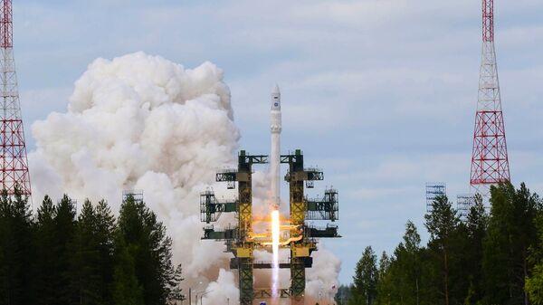 Пуск ракеты Ангара. Архивное фото