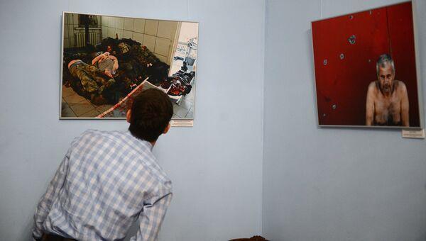 Открытие фотовыставки Братоубийство: визуальная хроника