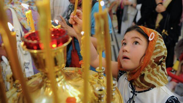 Православные христиане в Китае. Архивное фото.