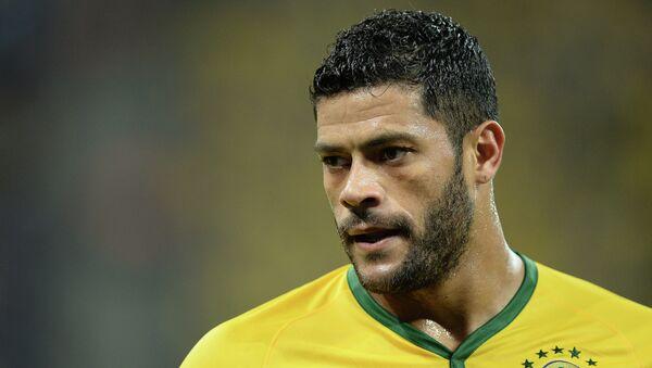 Игрок сборной Бразилии Халк. Архивное фото