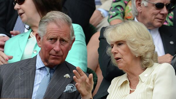 Принц Уэльский Чарльз с супругой Камиллой Паркер Боулз