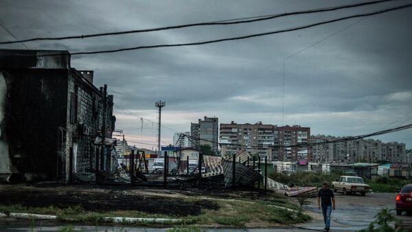 Луганск. Архивное фото