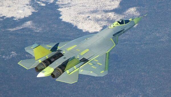 Самолет Т-50 ПАК ФА (Перспективный авиационный комплекс фронтовой авиации)