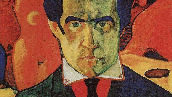 Казимир Малевич. Автопортрет. 1910. Архивное фото