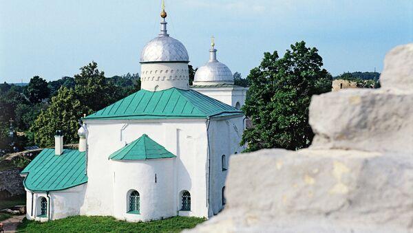Никольский собор в Музее-заповеднике Изборск