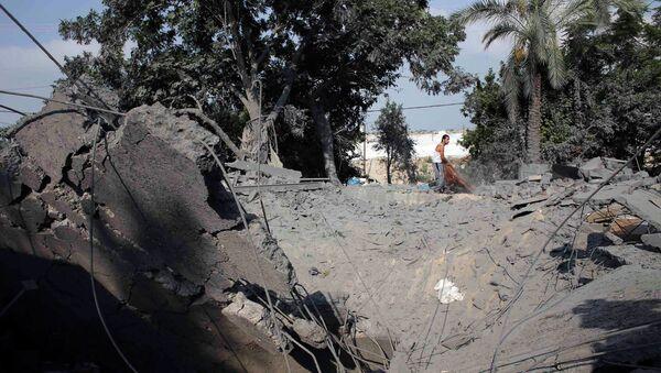 Последствия обстрела Сектора Газа израильскими военными, 20 июля 2014