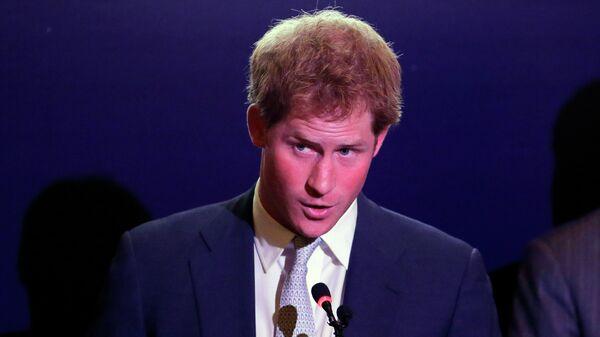 Принц Гарри. Архивное фото