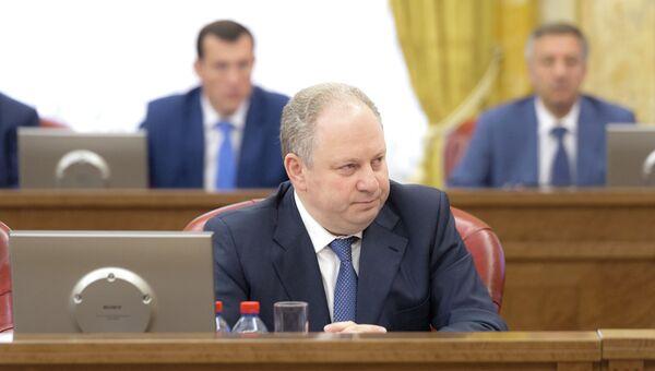 Руководитель департамента здравоохранения Москвы Георгий Голухов. Архивное фото