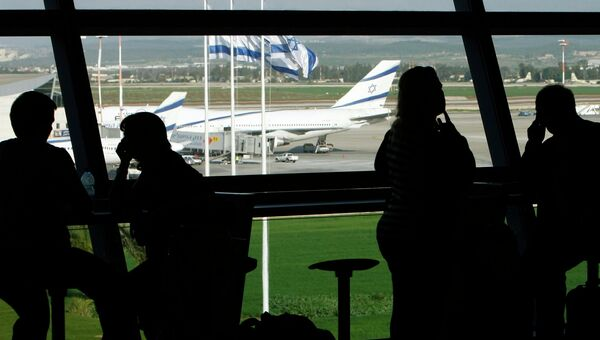 Израиль, аэропорт Бен-Гурион около Тель-Авива