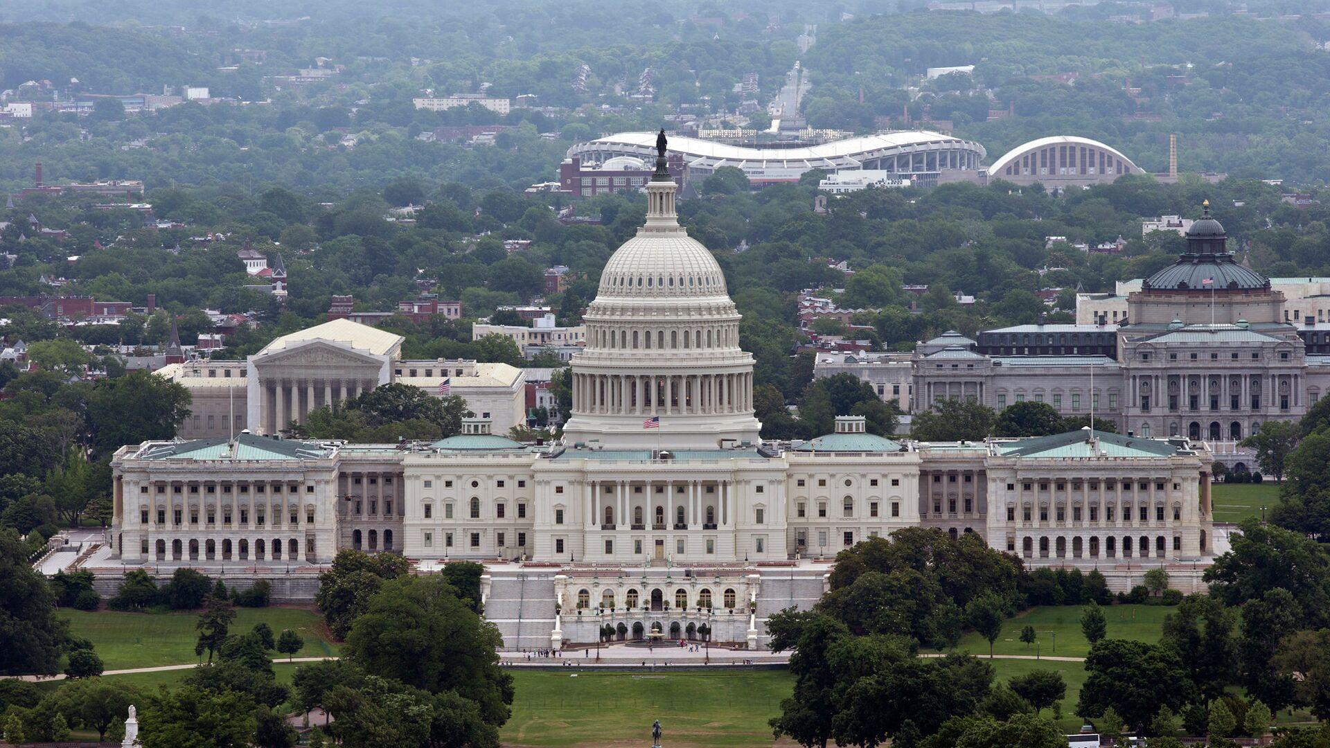 Здание Конгресса США в Вашингтоне - РИА Новости, 1920, 26.09.2021