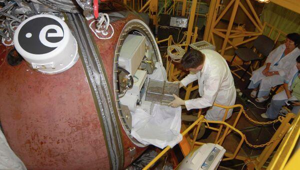 Научный космический аппарат Фотон-М. Архивное фото