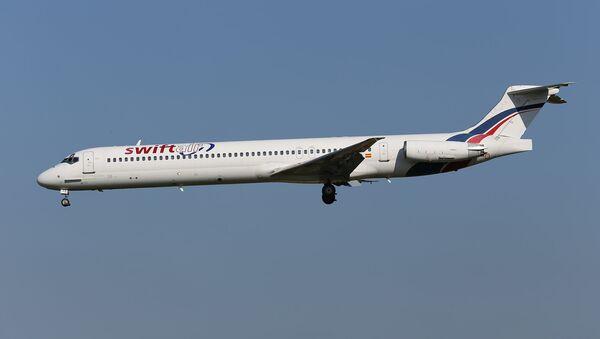 Самолет MD-83 испанской авиакомпании Swiftair. Архивное фото