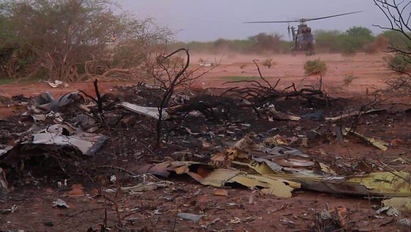 Обломки самолета компании Air Algerie в Мали