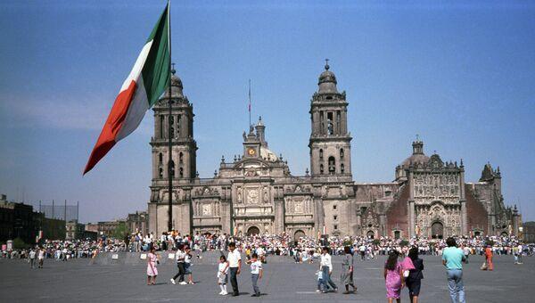 Кафедральный собор в Мехико. Архивное фото