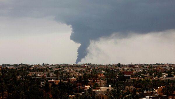 Ливийская столица Триполи. Архив