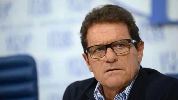 Главный тренер сборной России по футболу Фабио Капелло, архивное фото