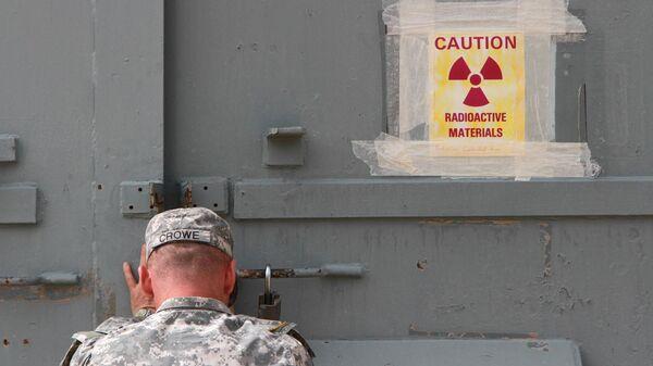 Военная база в Техасе, где хранится американское ядерное оружие. Архивное фото.