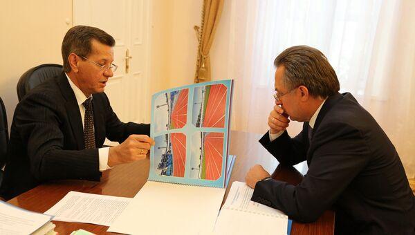 Виталий Мутко провел рабочую встречу с  Александром Жилкиным