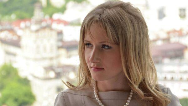 Украинская журналистка Алена Березовская