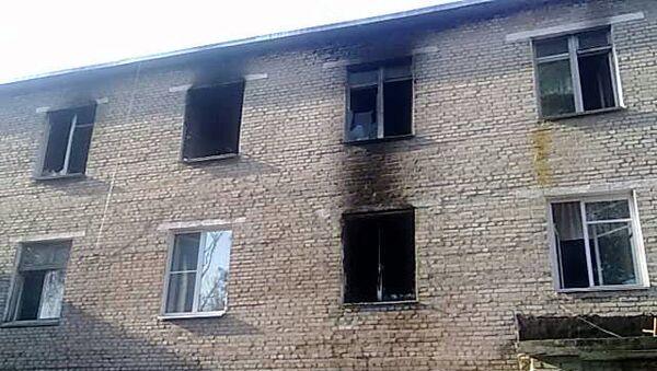 Пожар в больнице в Дорогобужском районе Смоленской области