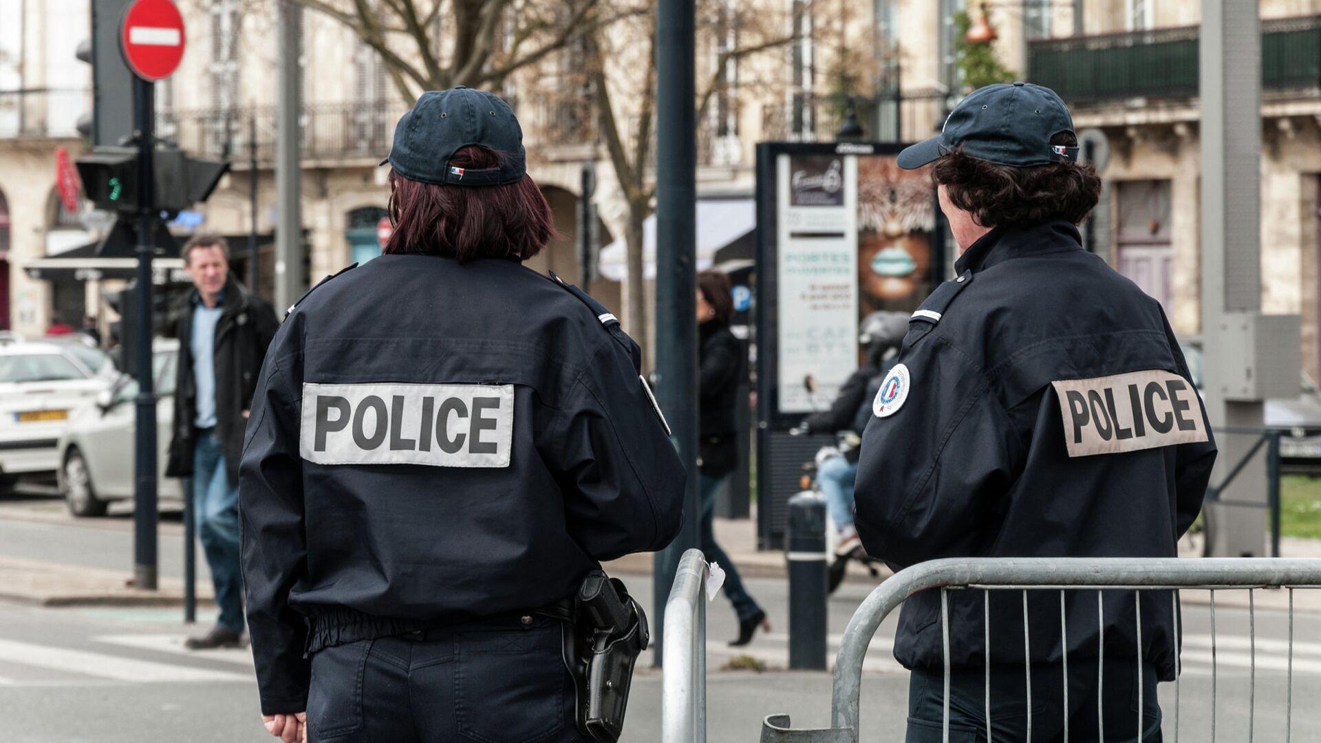 Полиция Франции - РИА Новости, 1920, 31.10.2020