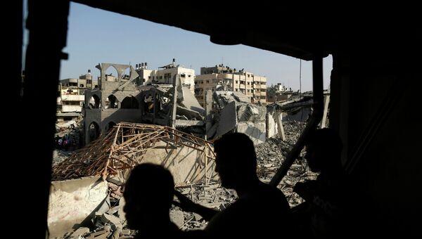 Ситуация в Газе, архивное фото