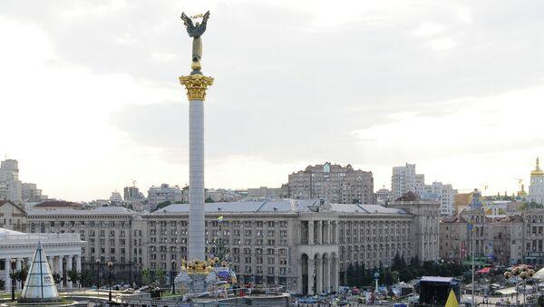Площадь Независимости в Киеве, архивное фото