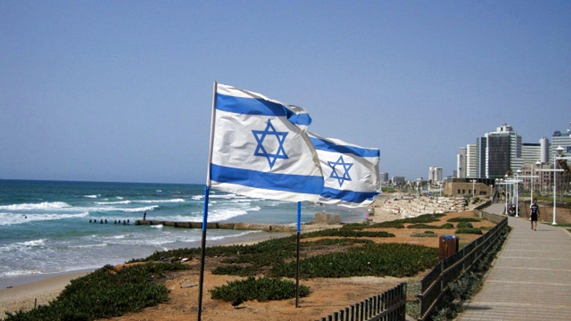 Флаги Израиля - РИА Новости, 1920, 25.12.2020