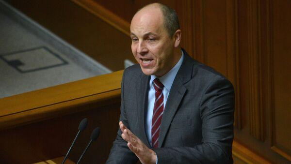 Секретарь Совета национальной безопасности и обороны Украины (СНБО) Андрей Парубий. Архивное фото