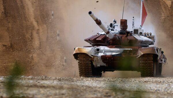 Танк Т-72Б. Архивное фото