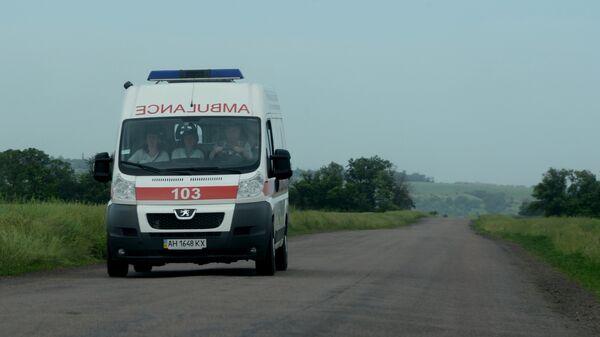 Автомобиль скорой помощи, Украина, архивное фото