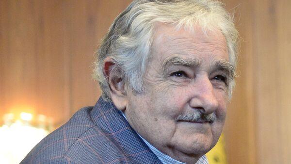 Экс-президент Восточной Республики Уругвай Хосе Мухико