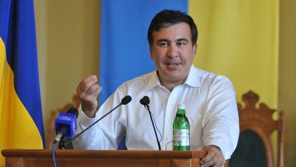 Бывший президент Грузии Михаил Саакашвили. Архивное фото