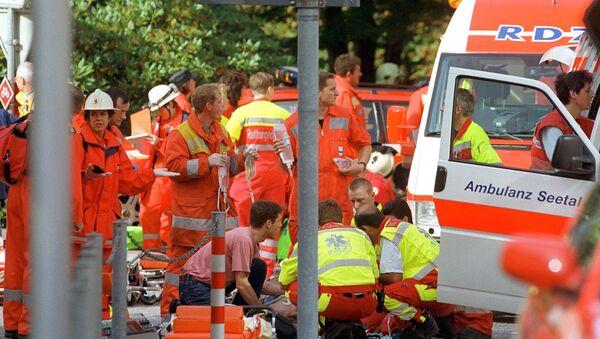 Работа швейцарских спасателей