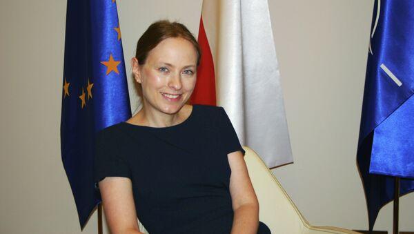Катажина Пелчиньска-Наленч, посол Польши в России. Архивное фото