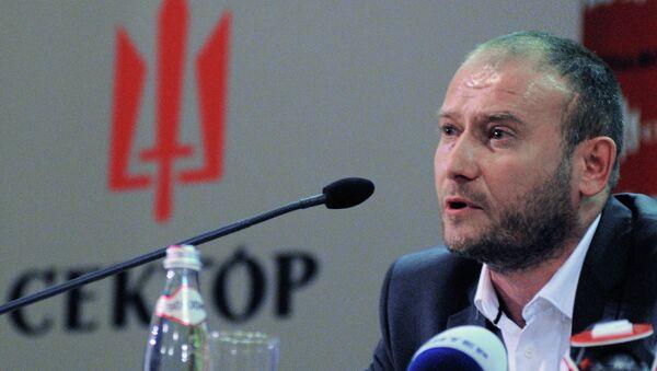 Лидер движения Правый сектор Дмитрий Ярош. Архивное фото