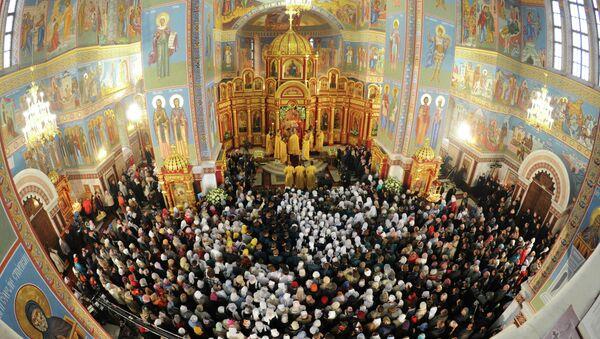 Освящение Кафедрального собора в Ханты-Мансийске