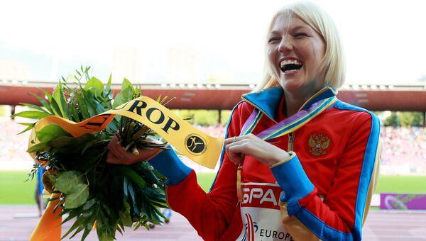 Российская спортсменка Эльмира Алембекова. Архивное фото