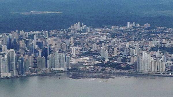 Вид на столицу Панамы