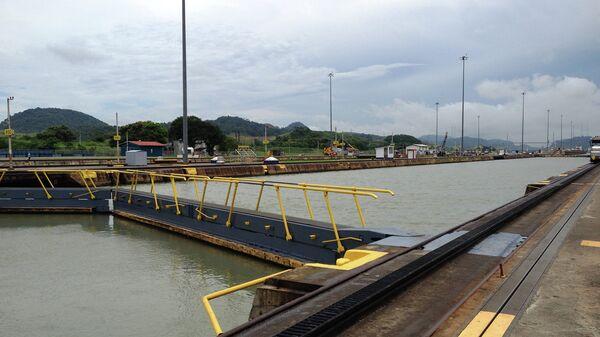 Панамский канал со стороны Тихого океана. Архивное фото