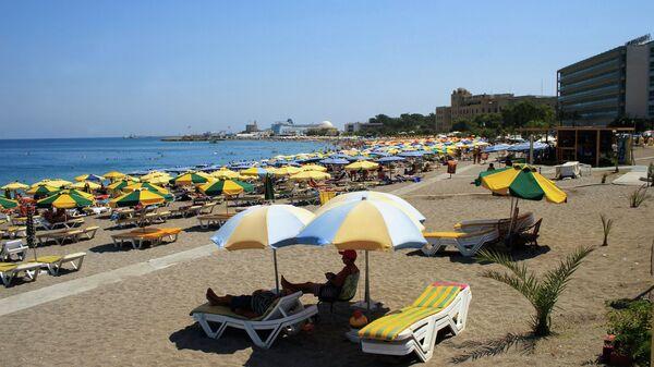 Пляж на острове Родос. Архивное фото